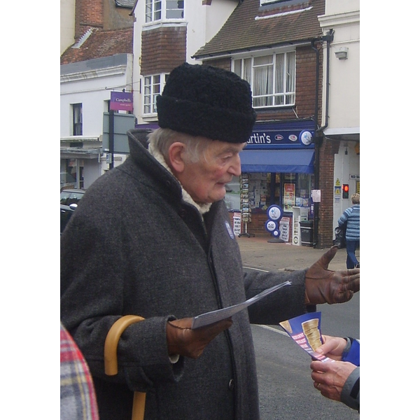 Richard campaigning in Battle 2.